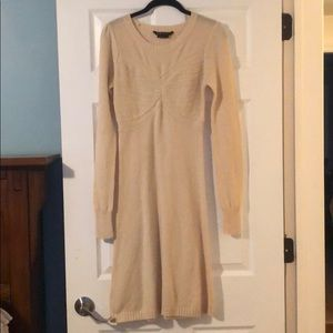 BCBG Maxazria Lambswool and Cashmere Dress